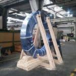 Drveno postolje za prirubnicu od 8 tona