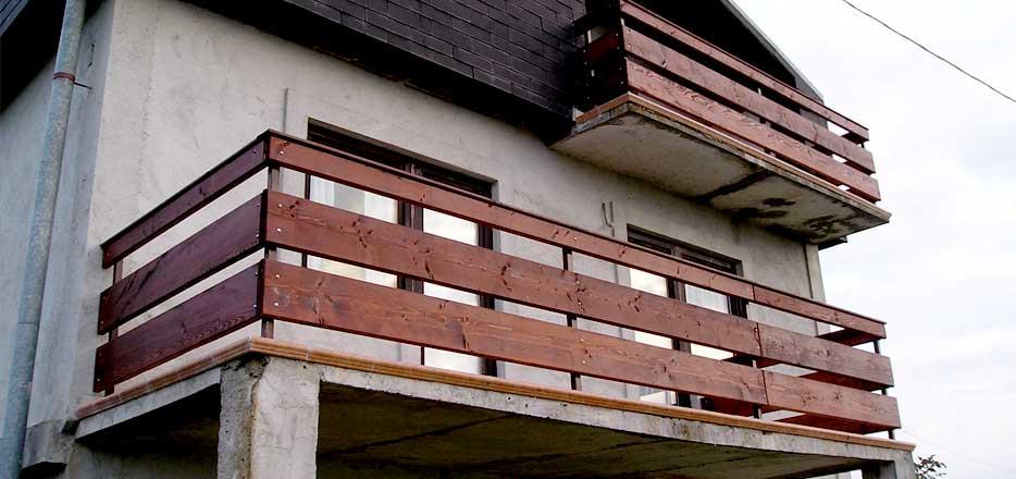 Balkonske ograde Otprema