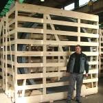 Pakiranje drvenih gajbi