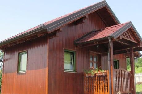 Drvena kuća do 16m2