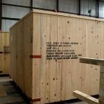 Drveni sanduk - teret 11 tona