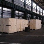 drveni sanduci - prekomorski transport