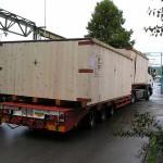 Transport drvenih sanduka