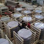 Pakiranje kompenzatora u drvene gajbe
