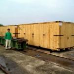 Drveni sanduci za prekomorski transport