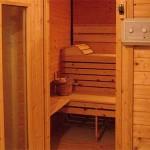 Finska sauna - vanjski dio