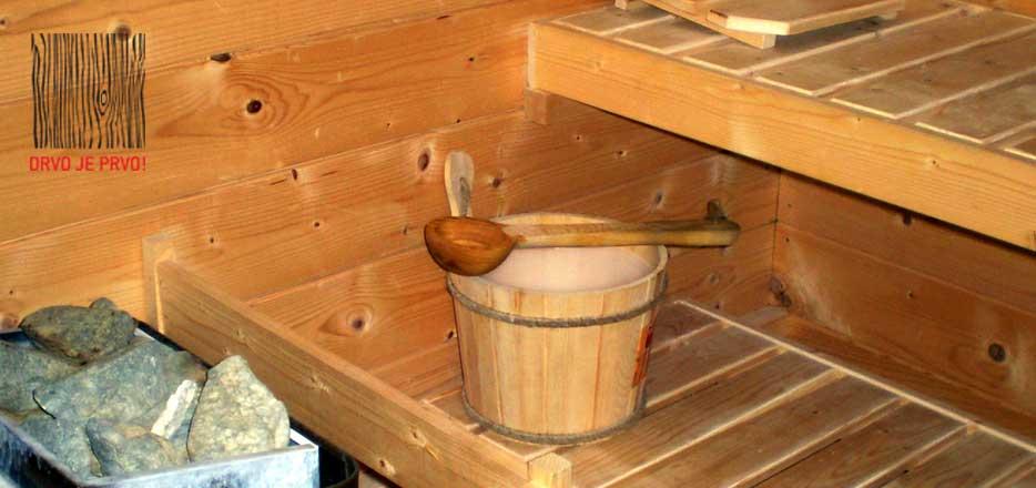 Saune otprema