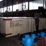 Specijani transport sanduka za prekomorski transport